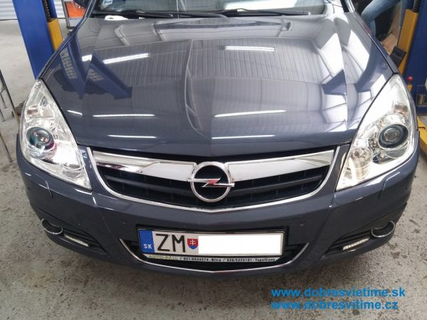 Opel Zafira - repad svietel