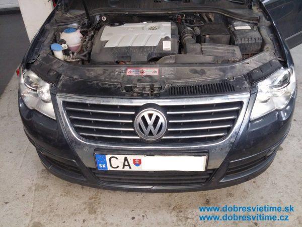 VW PASSAT po renovacii svtlometov auto dobre svieti