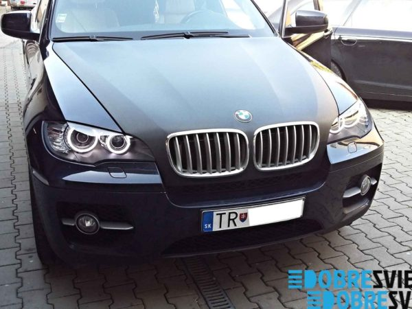 Renovacia a lestenie svetlometov hotove BMW