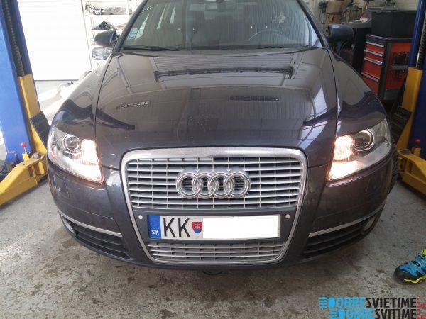Audi A6 - repas svietlometov