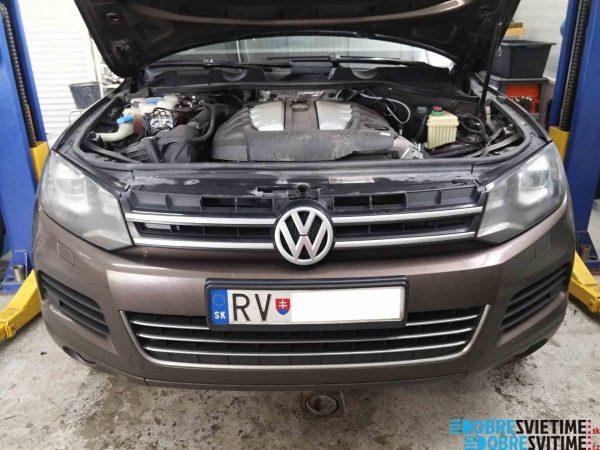 Repas bi-xenónových svetiel VW Touareg