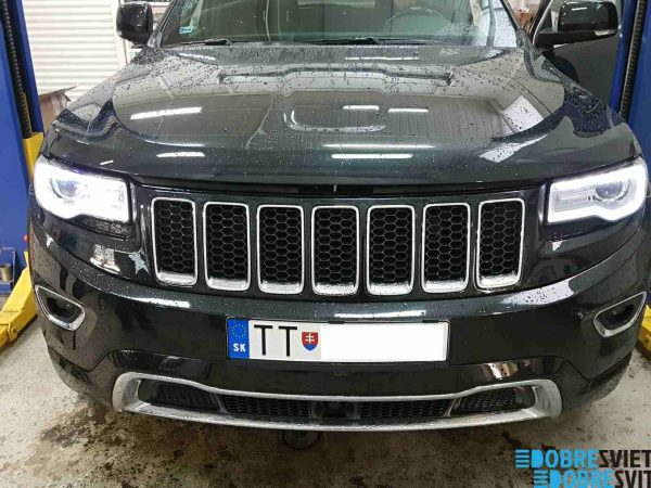 Repas - výmena LED svetiel Jeep Grand Cherokee