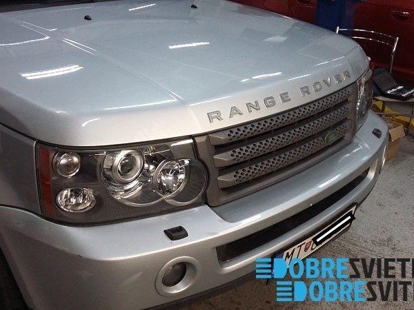 Renovácia predných svetlometov Land-Rover-Sport