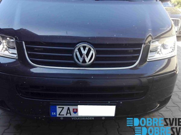 VW Multivan T5 - renovacia svetlometov na bixenon použitím VW Passat komponentov