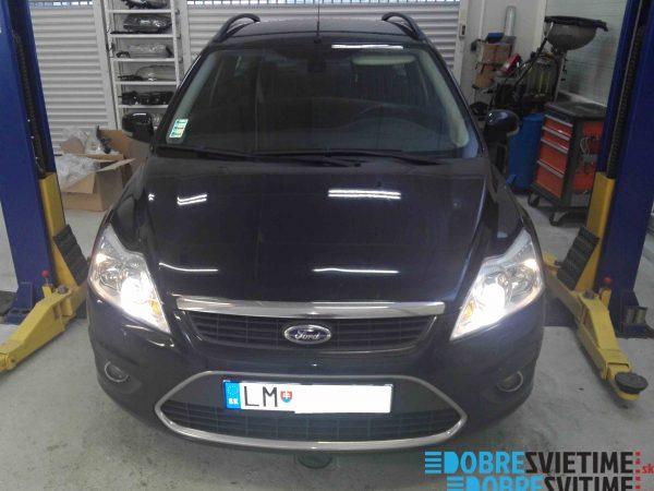 Ford Focus 2 - repas svetlometov