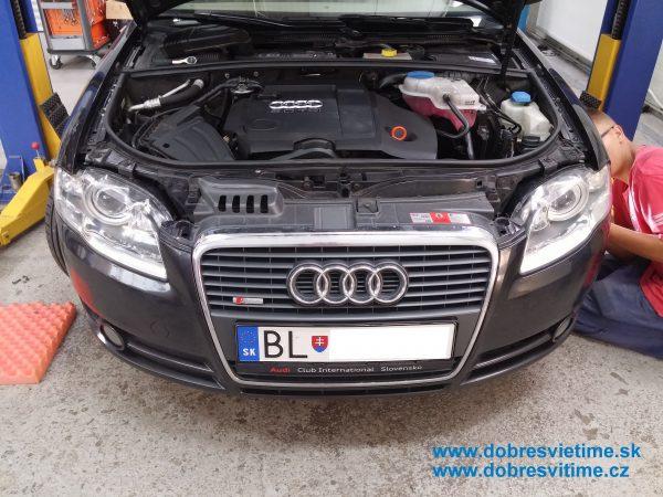 Audi A4 - repas svetlometov