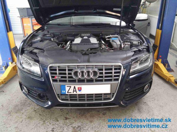 Audi A5 - renovacia svetiel