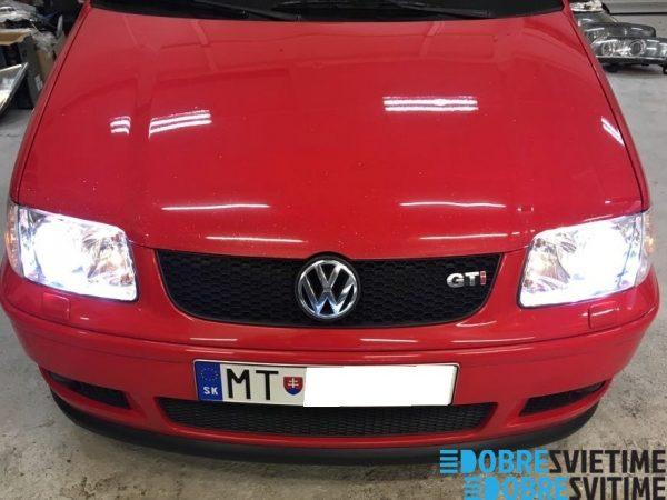VW POLO - renovacia svetlometov