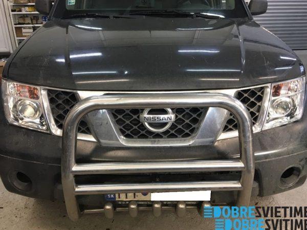 Nissan Navara - repas LED svetlometov